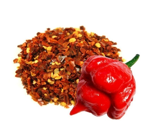 Habanero Dry Whole and Flakes pepper